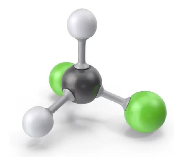 مولکول متیلن کلراید